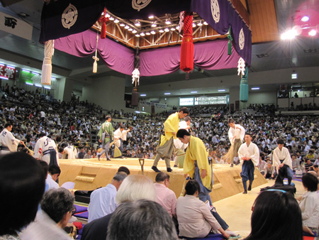 The sumo ring