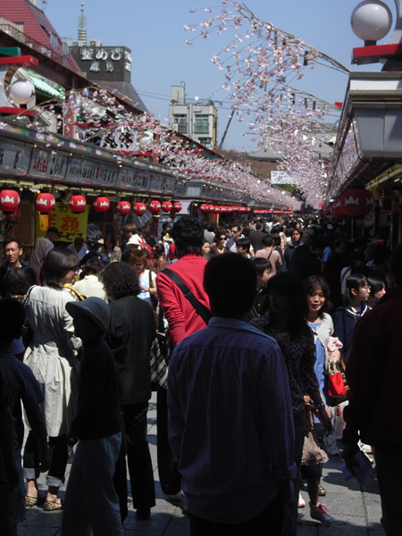 Souvenir shops in Aksakusa