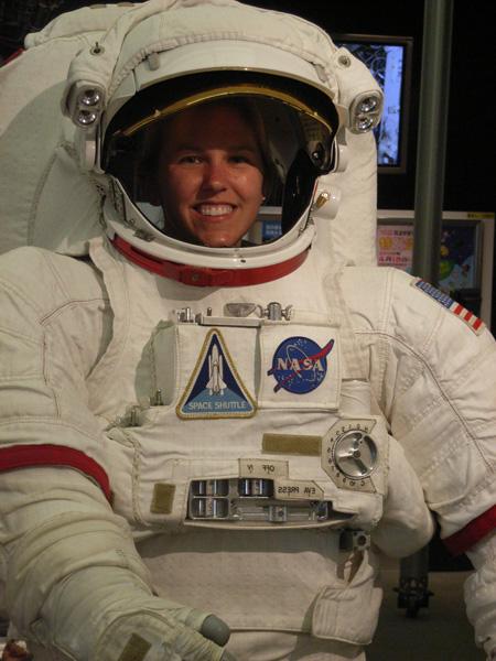 Astronaut Carrie