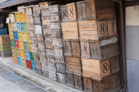 Precarious crates