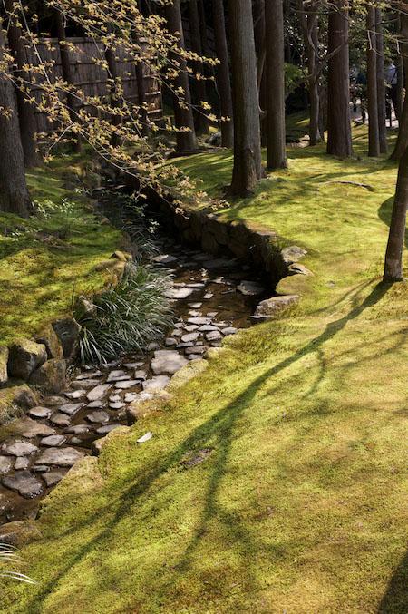 Ginkakuji hillside