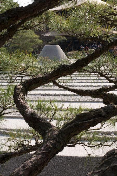Ginkakuji zen garden