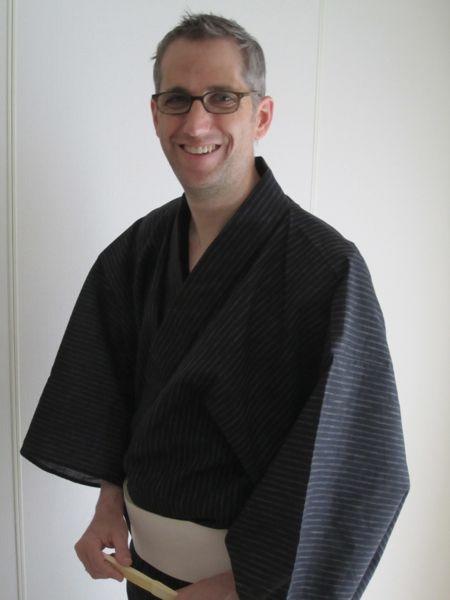 Modeling yukata