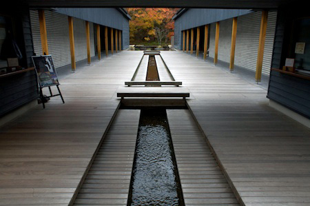 The onsen entrance