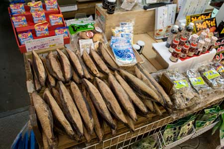 Dried fish to make fish flakes that dance on okonomiyaki