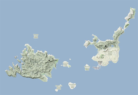 Ishigaki and surrounding islands