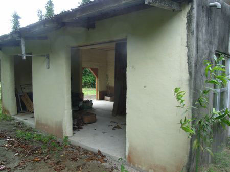 An empty school building on Yubu Island
