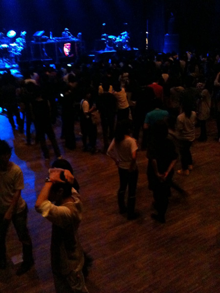 Studio Coast, Basement Jaxx concert