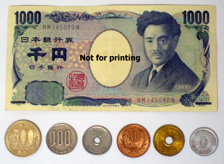 Some Japanese currency