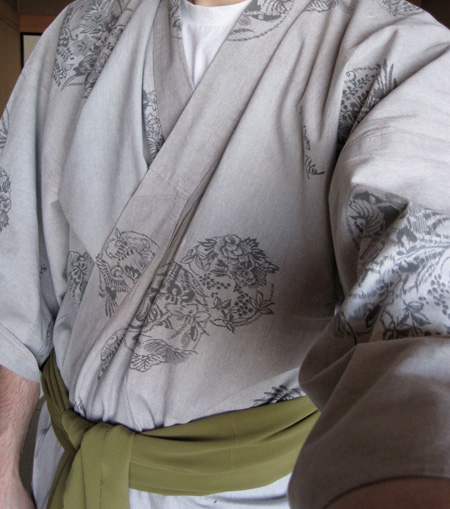 Detail of the yukata