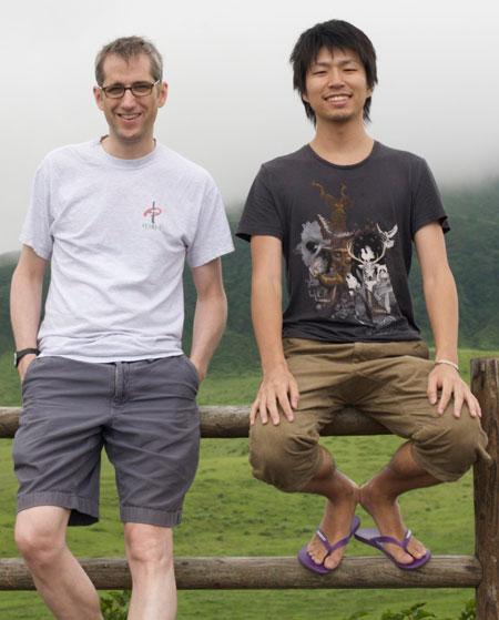Me and Kanamori-san