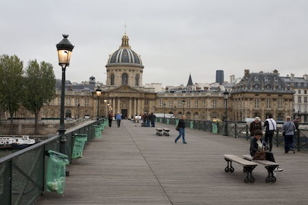 On the Pont des Arts