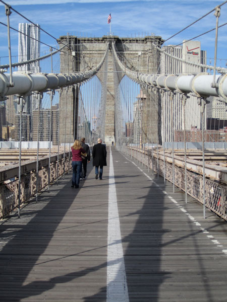 Brooklyn Bridge, color