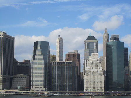 Manhattan, from Brooklyn Heights