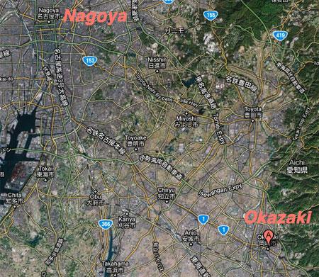 Nagoya to Okazaki