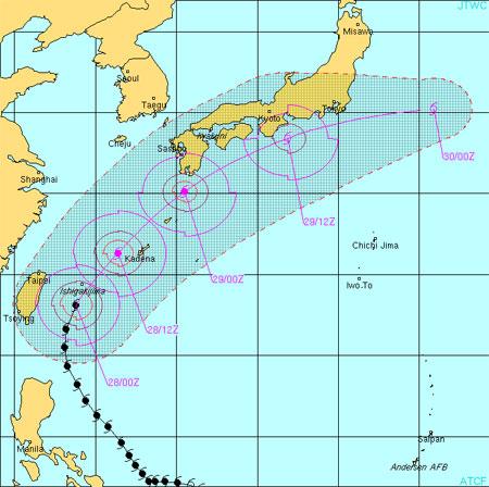 Typhoon 4W, Songda