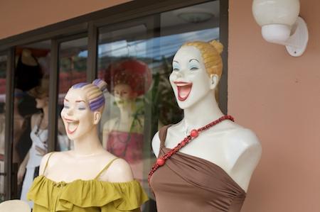Thai mannequins