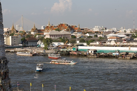 The view from Wat Arun