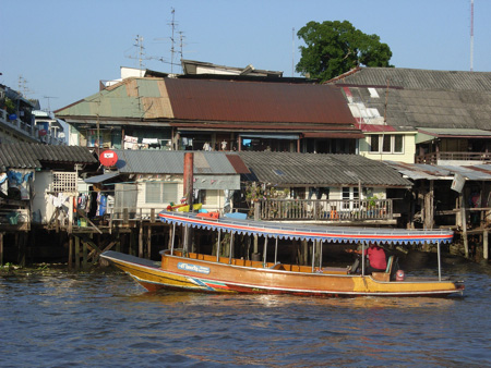 Plying the Chao Phraya